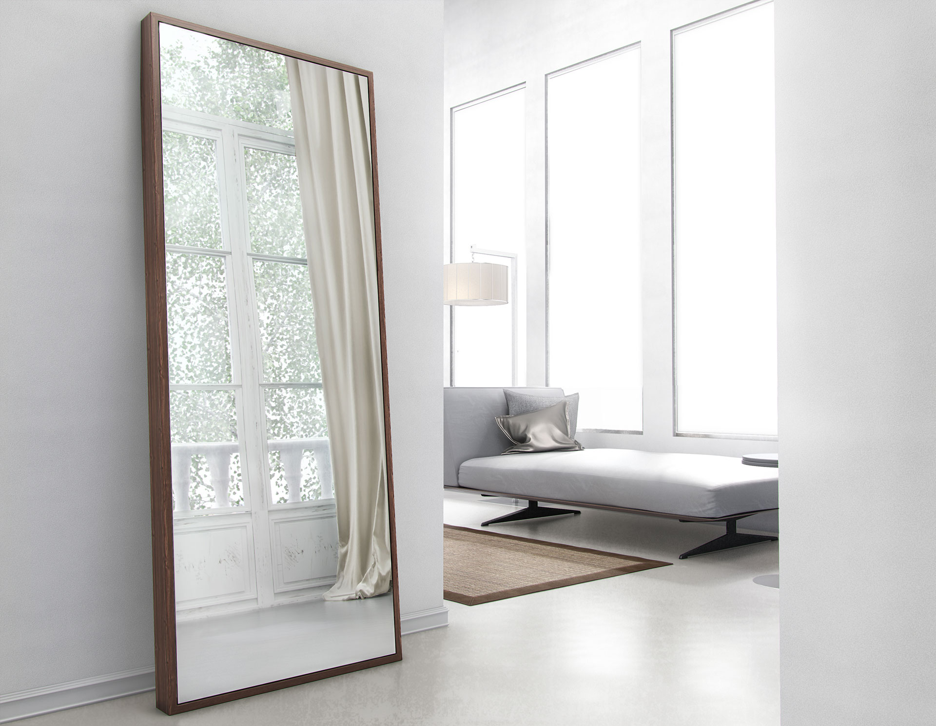 Modloft greene mirror md120 official store - Decorative wall mirrors for bedroom ...