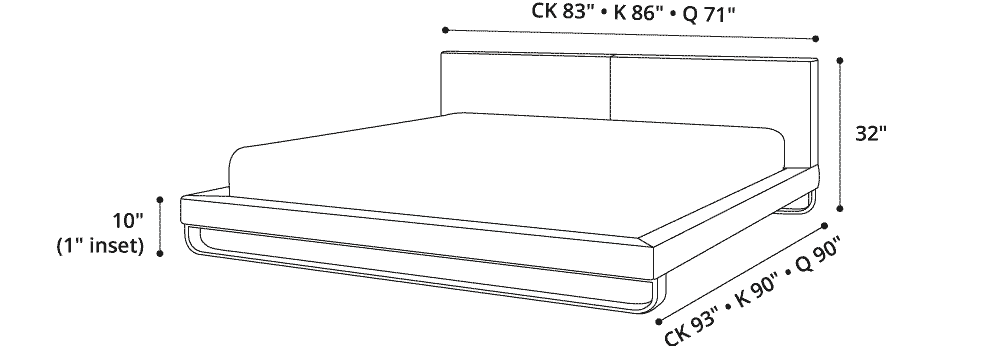 Chelsea King Bed