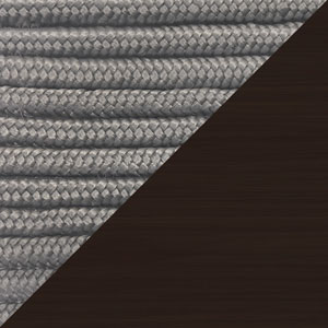 Image of Light Gray Cord and Dark Eucalyptus