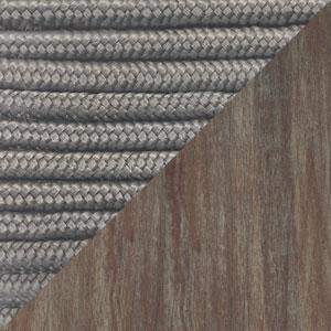 Image of Light Gray Cord and Weathered Eucalyptus