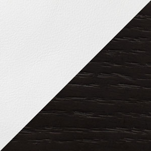 Image of White Eco Leather and Wenge
