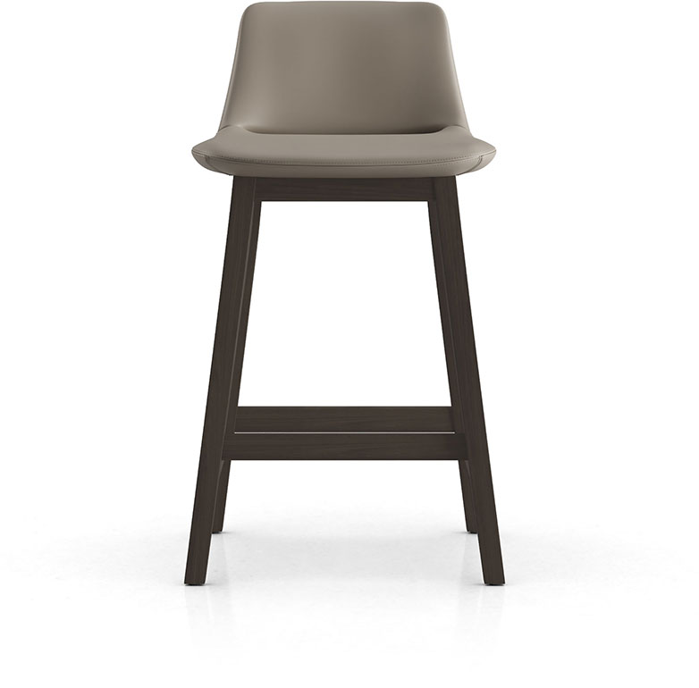 Mercer Counter Stool in Castle Gray Eco Leather