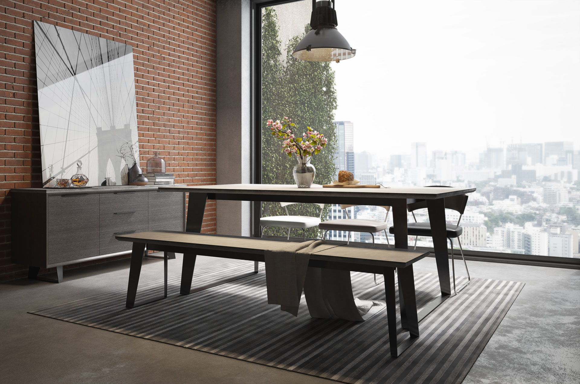 mills pdx gray andover table furniture dining reviews olivet wayfair