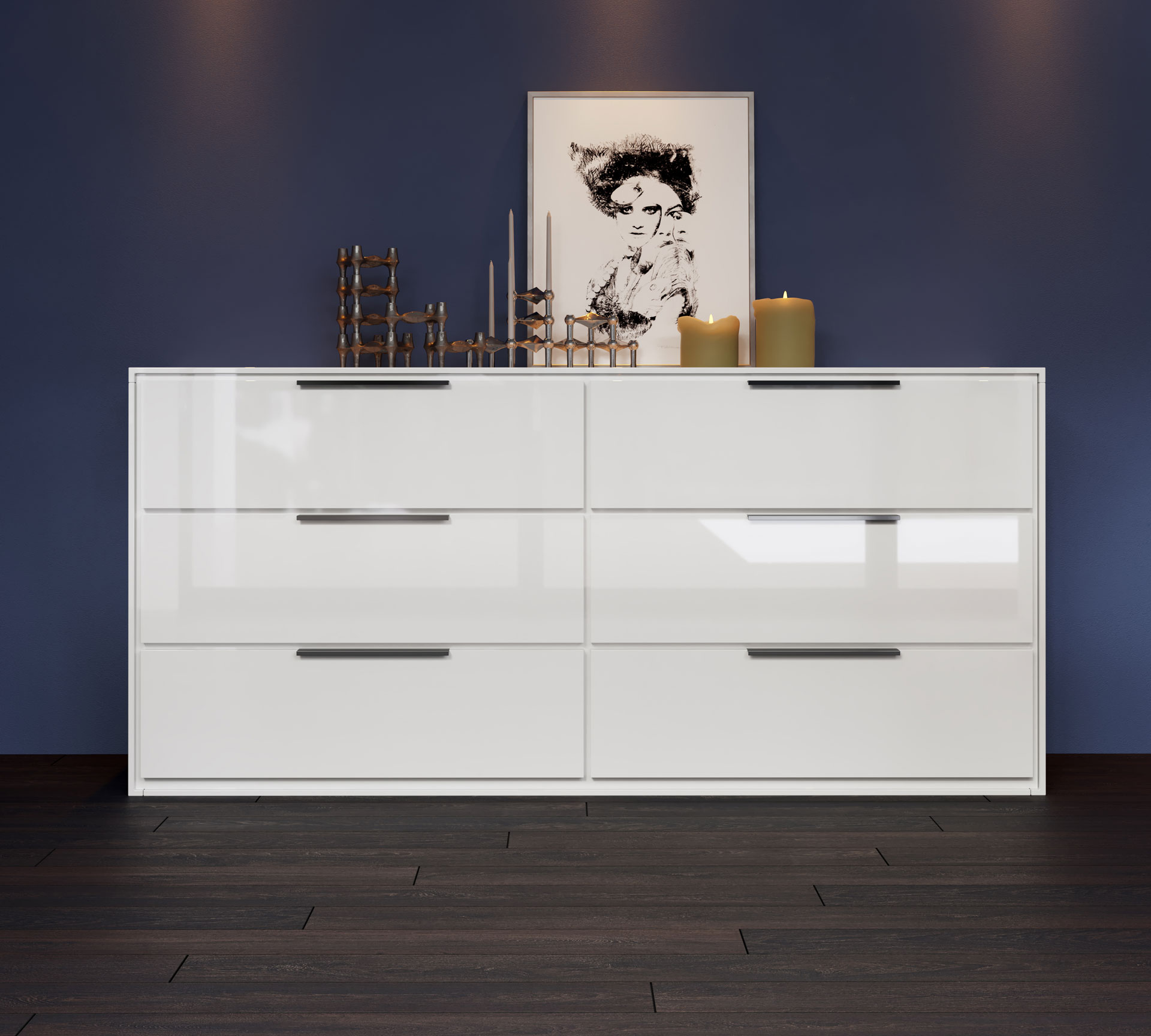 dresser for ca double south home maple drawer kitchen shore hallways living rooms versa or bedrooms gray amazon dp