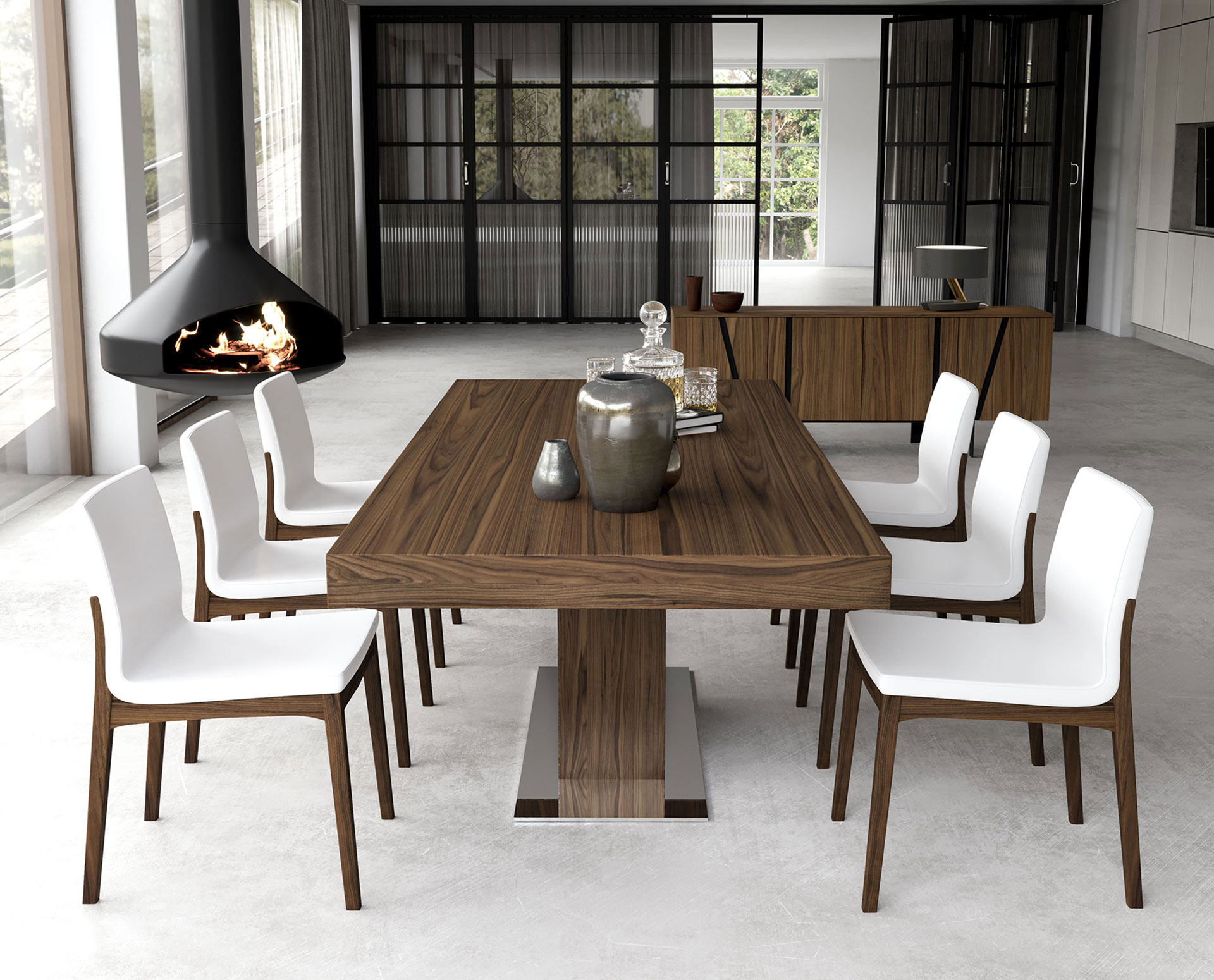 Modloft Astor Dining Table MD520 ficial Store