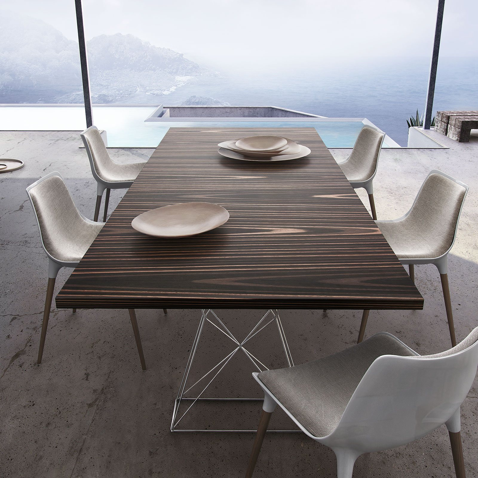 Modloft Curzon 102in Dining Table MJN176 ficial Store