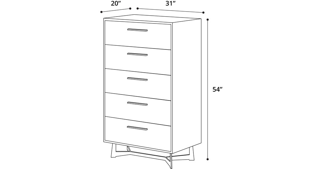 Broome High Chest Dresser