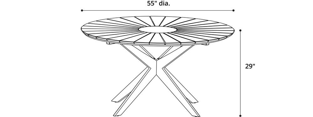 Helios Dining Table
