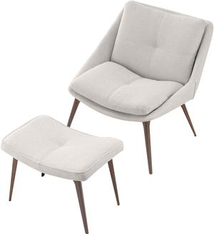 Columbus Lounge Chair and Ottoman